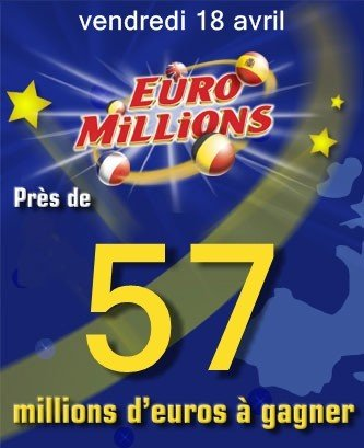 r sultats tirage euromillions du vendredi 18 avril 2008. Black Bedroom Furniture Sets. Home Design Ideas