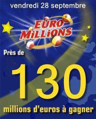 ... sur facebook vote sur wikio tags EUROMILLION EUROMILLIONs tirage