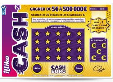 comment jouer cash le jeu de la fdj plus populaire que l euromillions. Black Bedroom Furniture Sets. Home Design Ideas