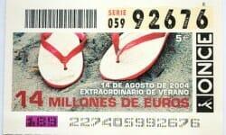 Pendant les vacances, continuez à jouer à la loterie !