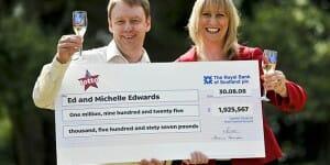 Après avoir gagné plus de 2 millions au loto, Michelle Edwards s'engage dans le bénévolat