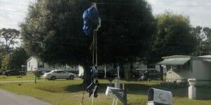 Ce parachutiste tente sa chance à la loterie après l'avoir échappé belle