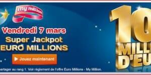 La prochaine super cagnotte de l'Euromillions, c'est pour le 6 juin