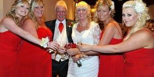 Un mariage sur le thème de l'Euromillions