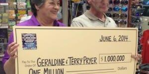 Un million pour cette grand-mère et son fiston