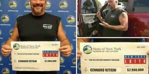 En nettoyant son pick-up, il découvre un ticket valant 2,9 millions