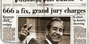 El fraude de la lotería del 24 abril de 1980 en Pennsylvania