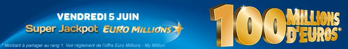 Super EuroMillions du vendredi 5 juin 2015