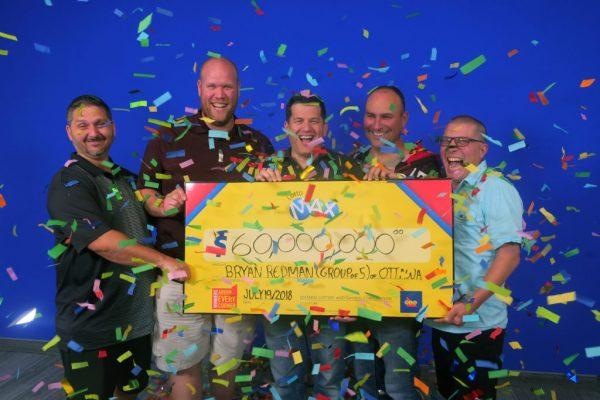 5 gagnants du loto au Canada