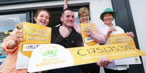 EuroMillions : victoire irlandaise en famille pour le jackpot de 175 millions